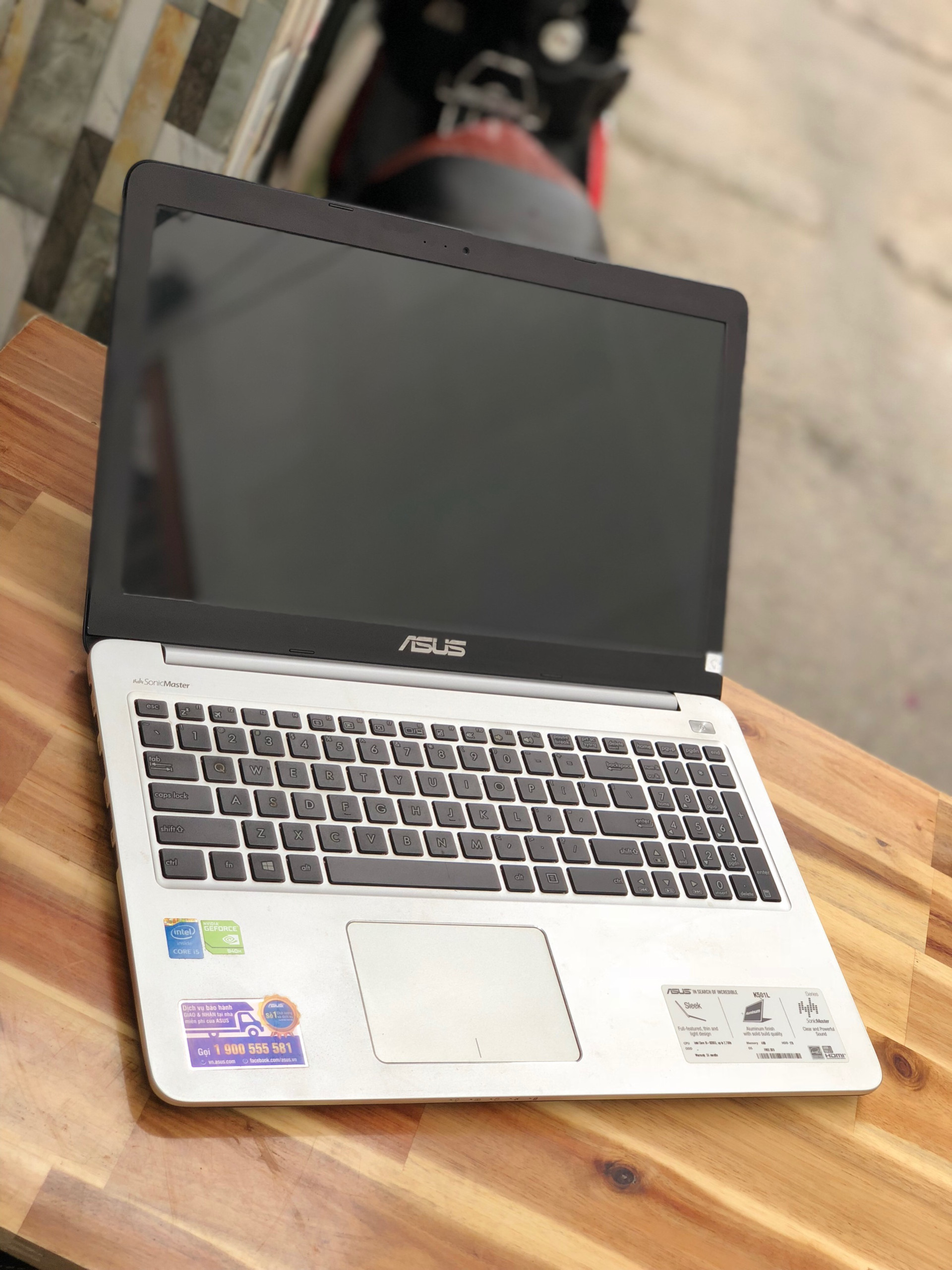 Laptop Asus K501LB, i5 5200U 4G 1000G Vga 940M Full HD Like new Giá rẻ4