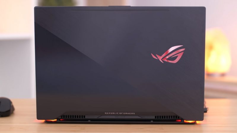 Laptop Asus Rog Zephyrus M GM501GS, i7 8750H 32G SSD512+1T GTX1070 8G Full HD 144hz Full Box4