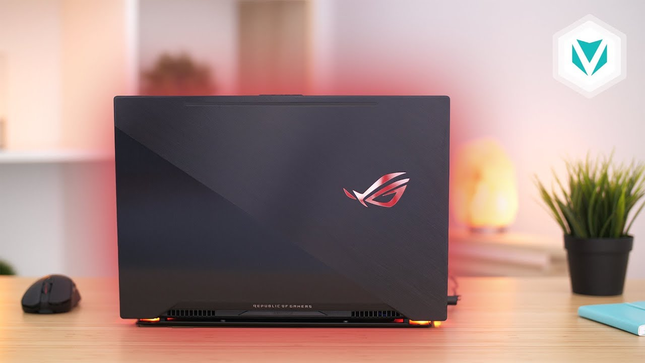 Laptop Asus Rog Zephyrus M GM501GS, i7 8750H 32G SSD512+1T GTX1070 8G Full HD 144hz Full Box1