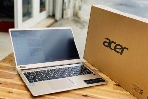 Laptop Acer Swift 3 SF315-52/ i3 8130U/ 4G/ SSD240-1000G/ Full HD IPS/ Finger/ LED Phím/ Full Box